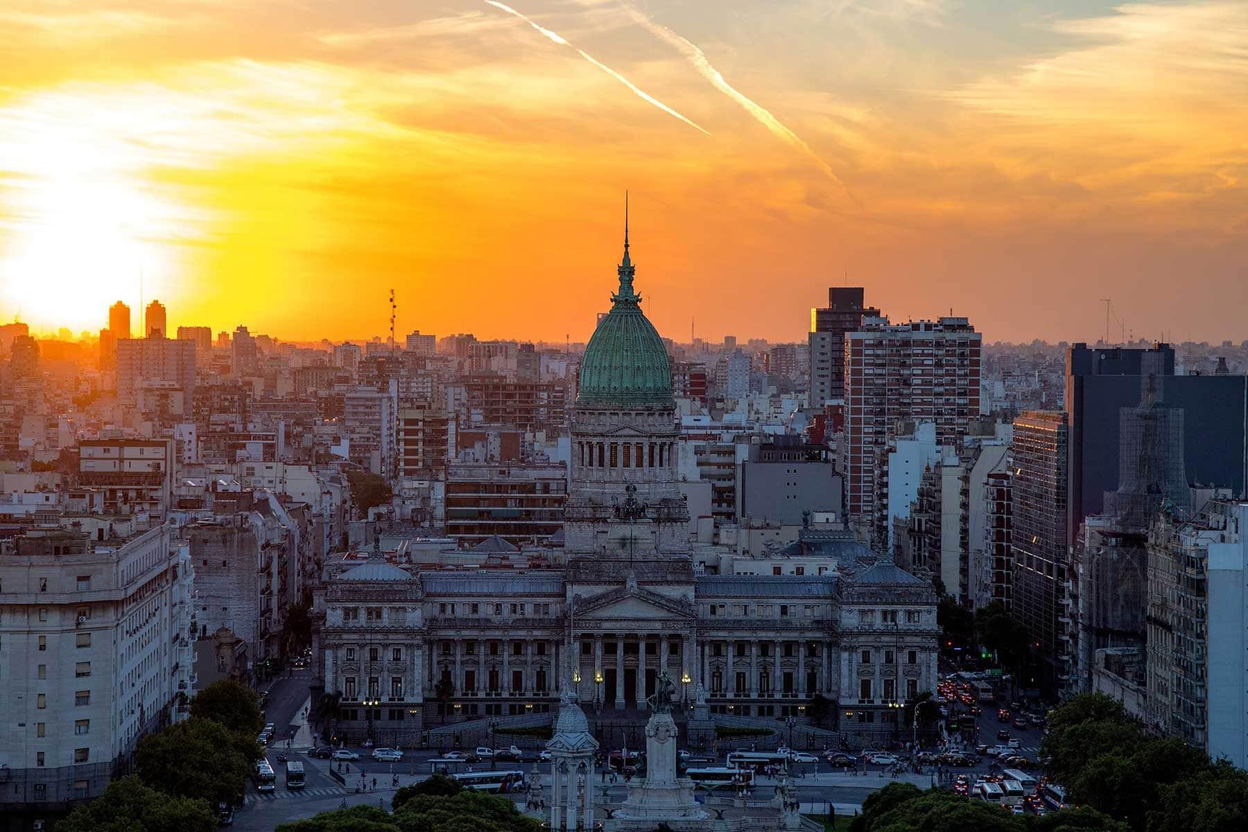 Resor-till-Buenos-Aires-med-Nygren-LInd-Resebyrå---stadsbild