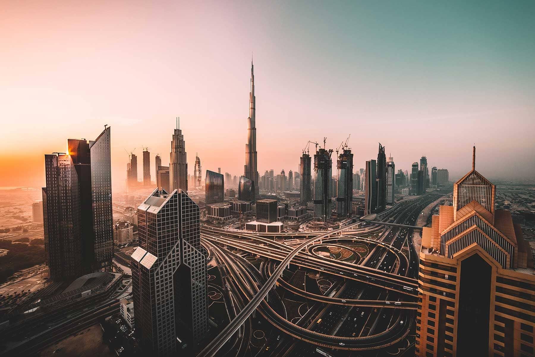 Resor-till-Dubai-med-Nygren-&-Lind-Resebyrå--dubai-skyline