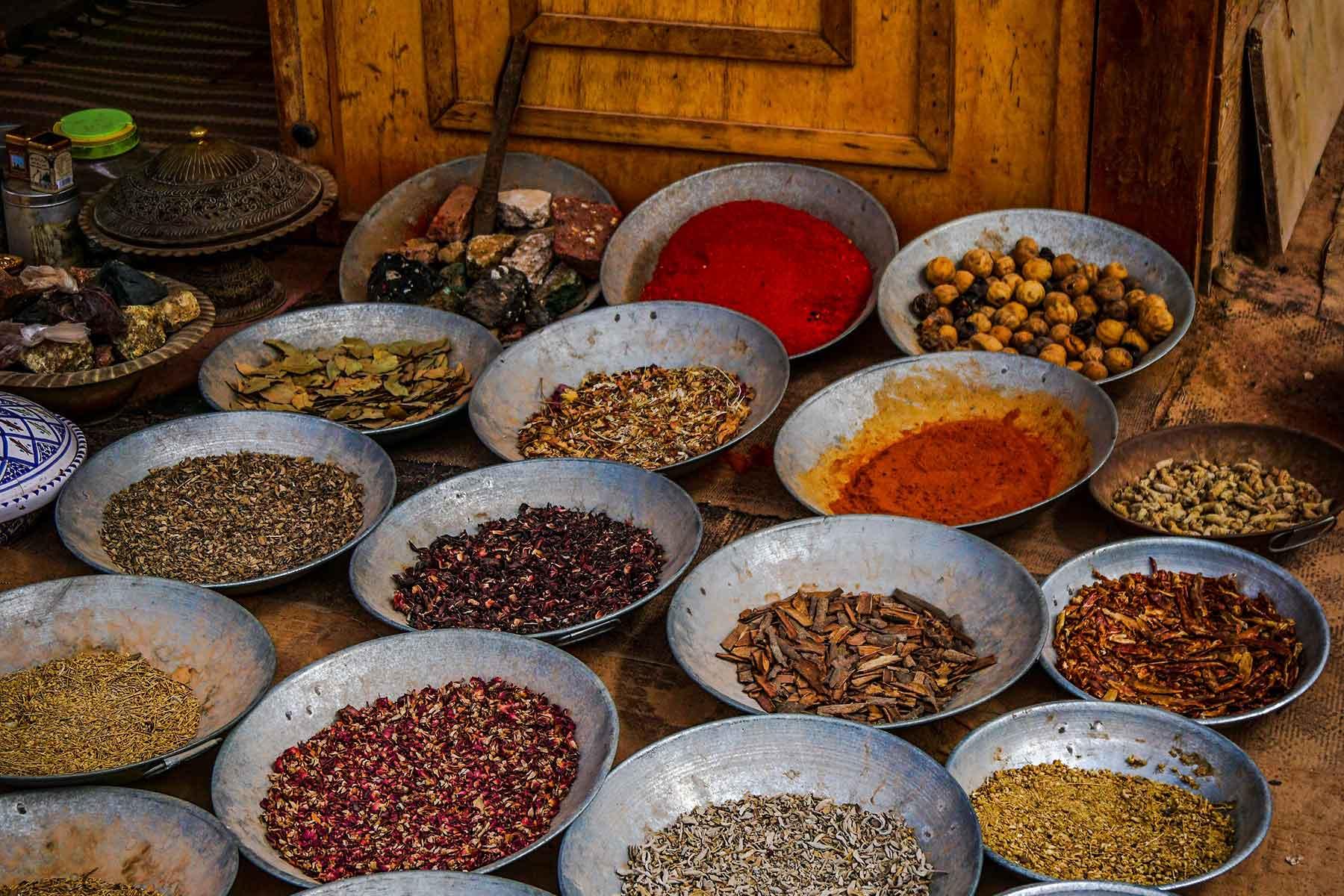 Resor-till-Jordanien-med-Nygren-&-Lind-Resebyrå---kryddor