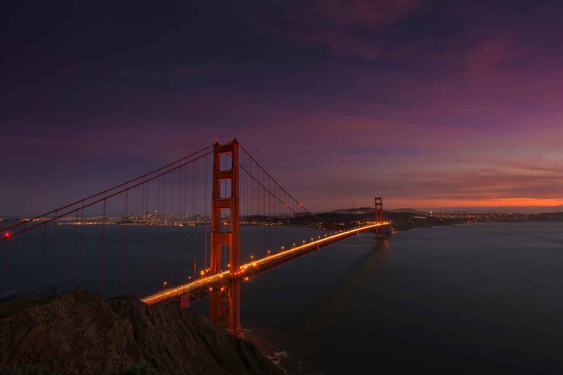 Resor-till-Kalifornien-med-Nygren-&-Lind-Resebyrå---golden-gate-bridge