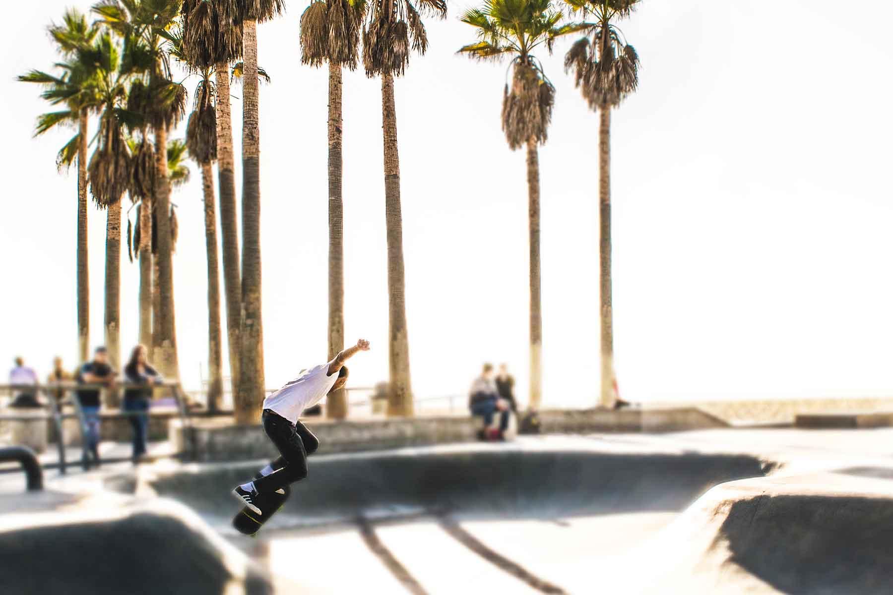 Resor-till-Kalifornien-med-Nygren-&-Lind-Resebyrå---venice-beach-skater