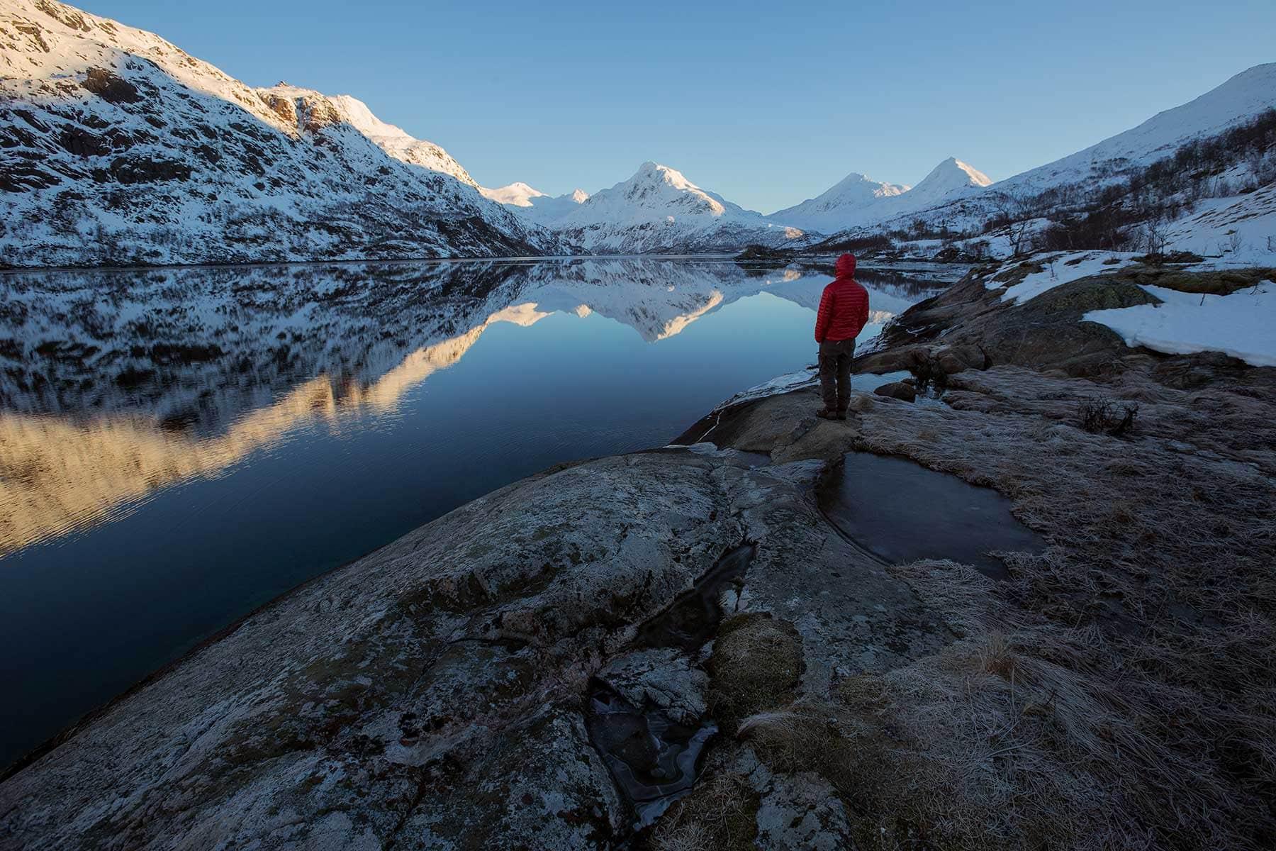 Resor-till-Lofoten-i-Norge---glaciär-Nygren-Lind-Resebyrå