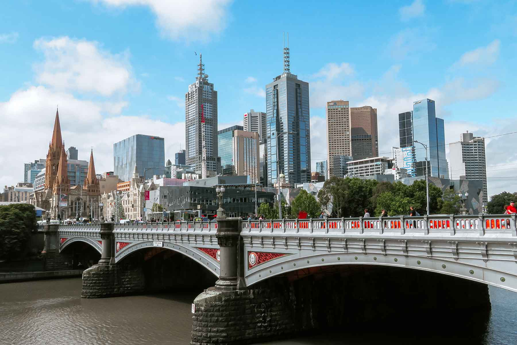 Resor-till-Melbourne-Nygren-Lind-Resebyrå---bro-i-staden