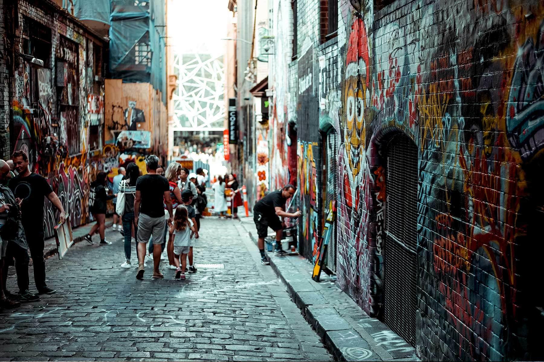 Resor-till-Melbourne-Nygren-Lind-Resebyrå---grafitti-gata-2