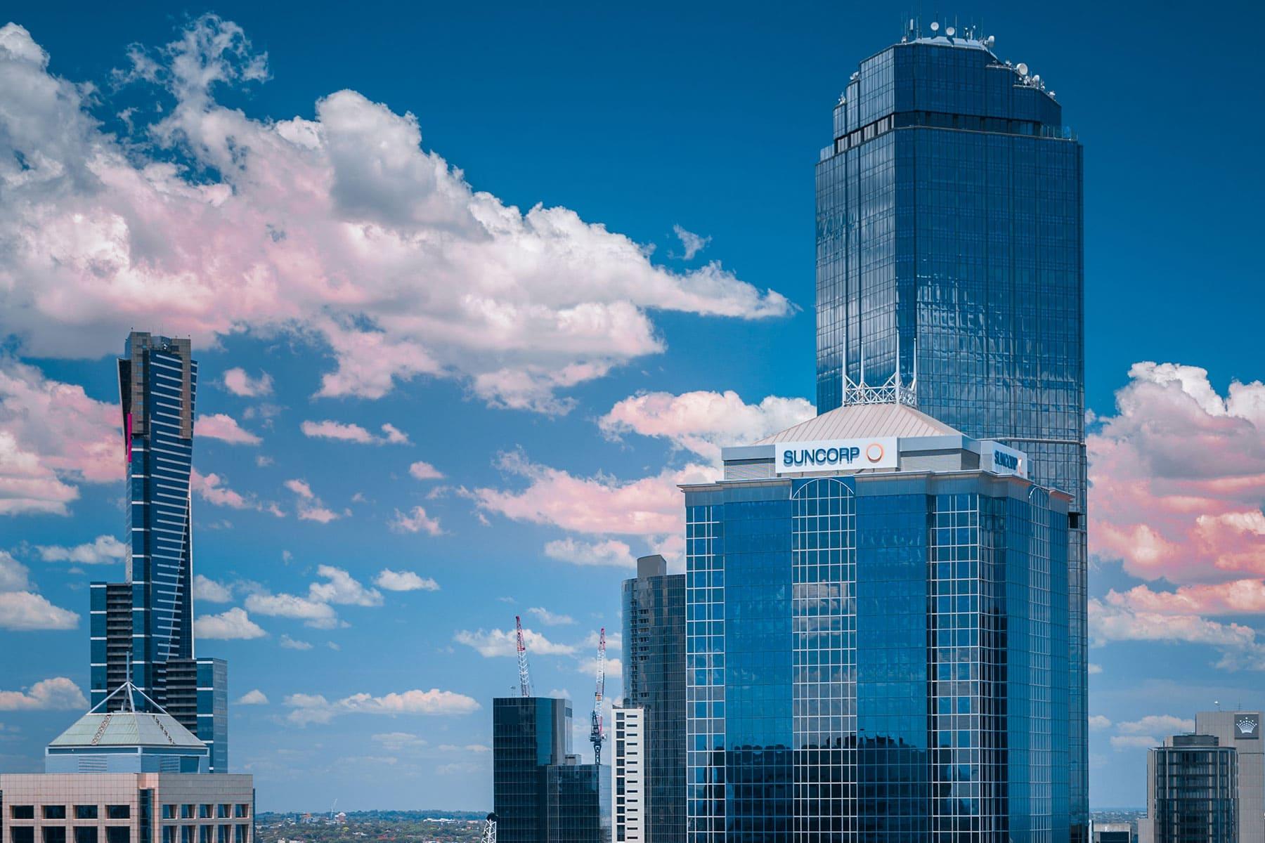 Resor-till-Melbourne-Nygren-Lind-Resebyrå---skyskrapere