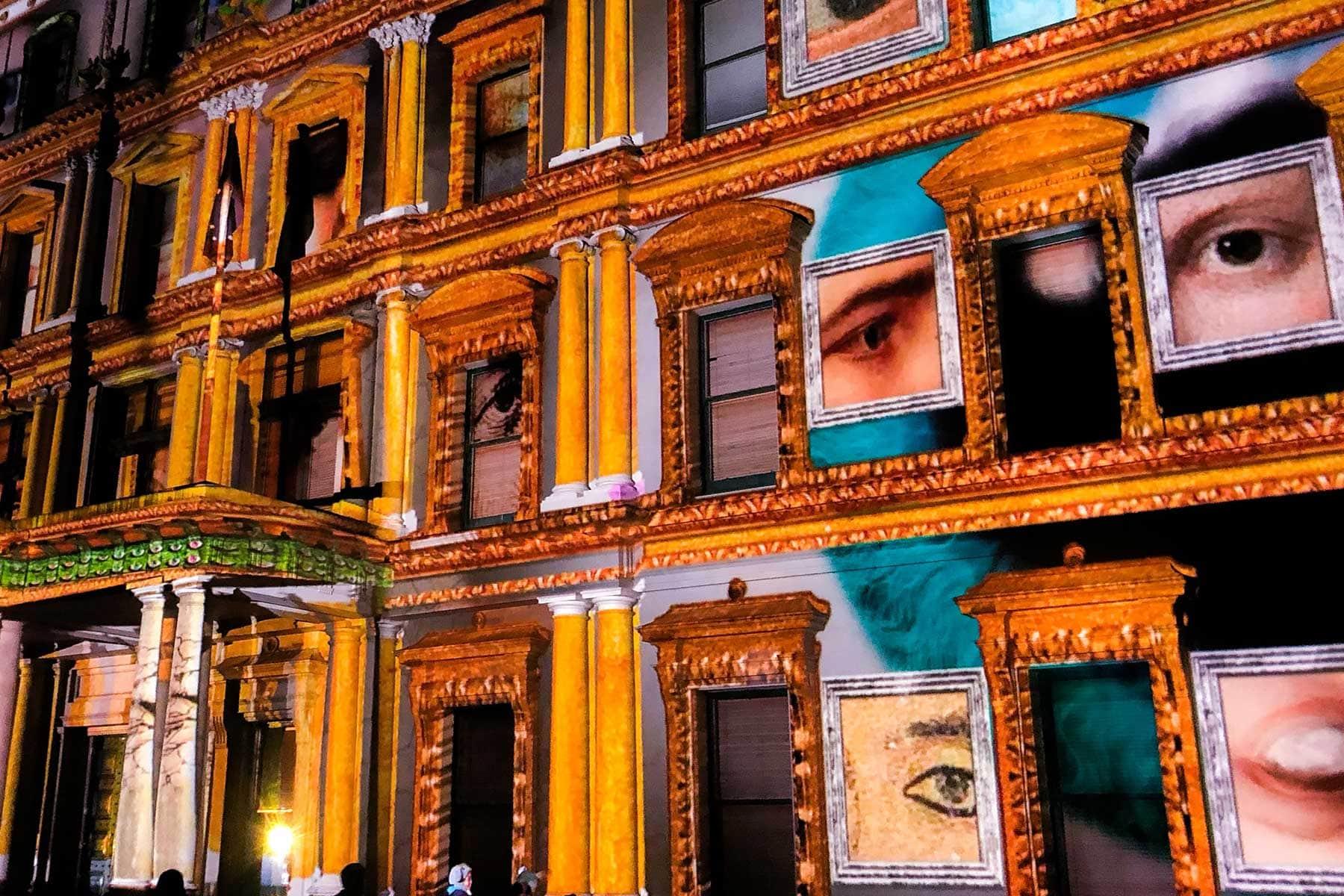 Resor-till-Melbourne-Nygren-Lind-Resebyrå---vägg-med-måleri