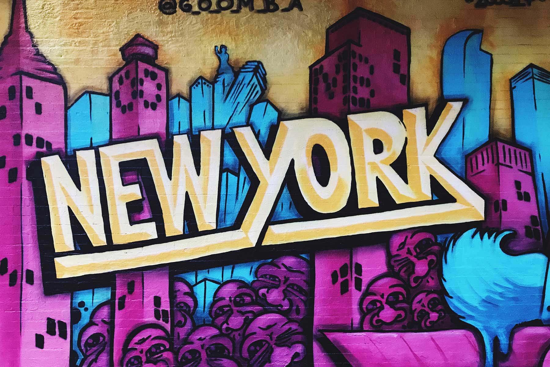 Resor-till-New-York-med-Nygren-Lind-Resebyrå--grafitti