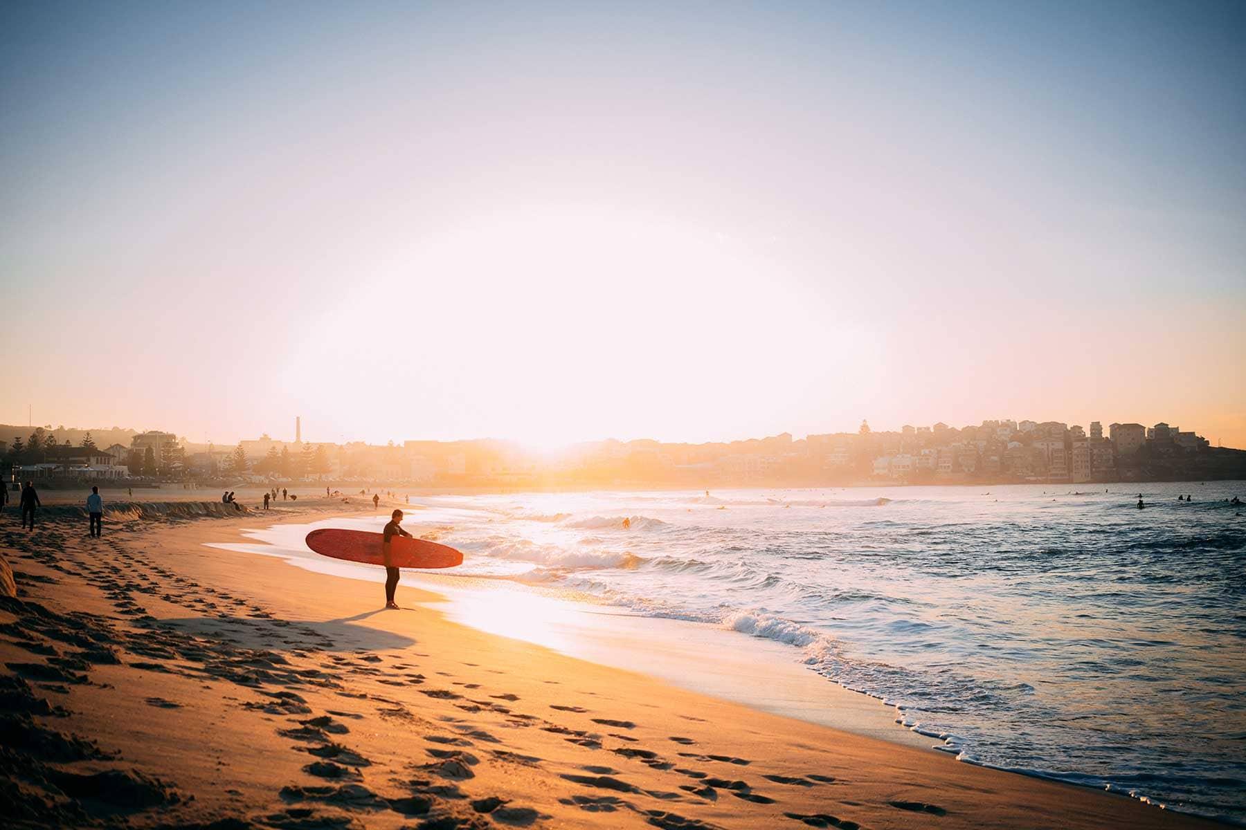 Resor-till-Oceanien-med-Nygren-&-Lind-Resebyrå---Bondi-Beach