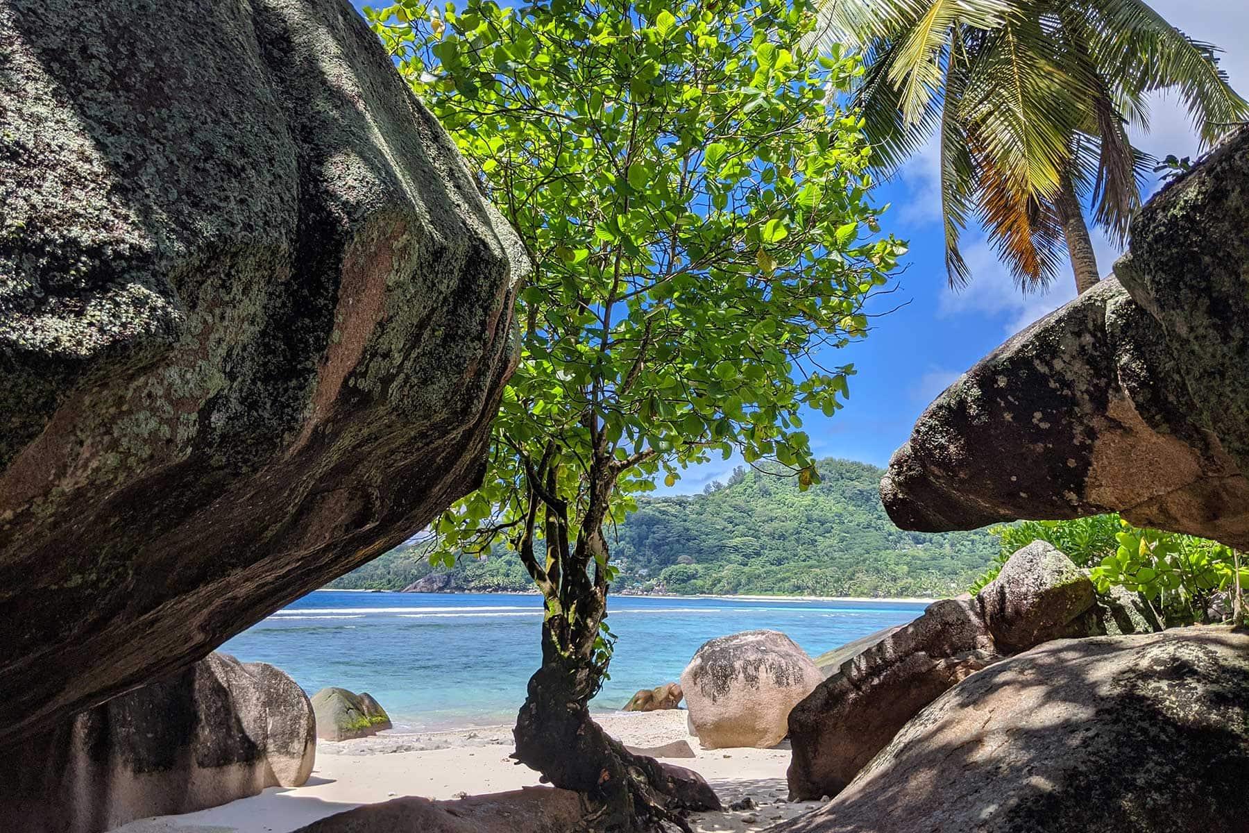 Skräddarsydda-resor-Seychellerna-granit-strand-Nygren-Lind-Resebyrå