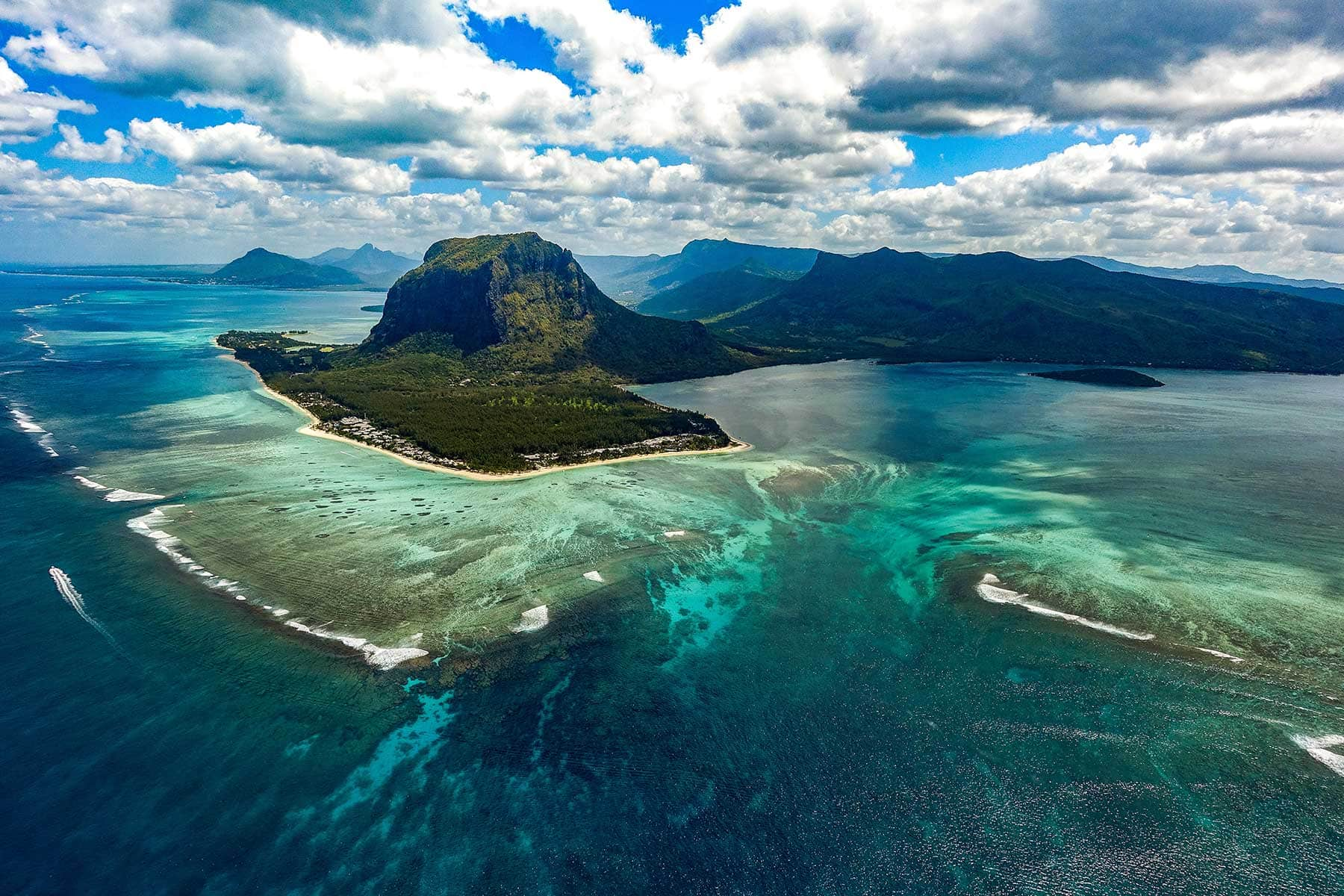 Trips-to-Mauritius-Nygren-&-Lind-Travel-agency---le-morne-from-the-sky
